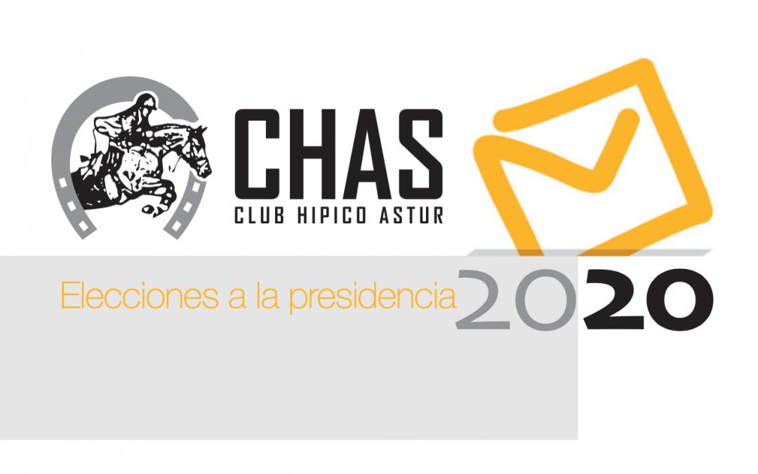 Un único candidato provisional a la presidencia del CHAS