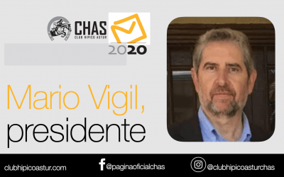Mario Vigil, nuevo presidente del CHAS