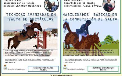 Masterclass de Gerardo Menéndez y Fidel Dávila en el CHAS
