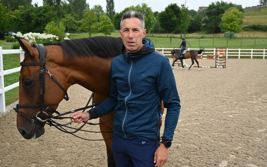 """Gerardo Menéndez, """"Es una suerte disfrutar del Gijón Horse Jumping cada verano"""""""