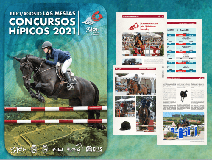 Una revista para la consolidación del Gijón Horse Jumping