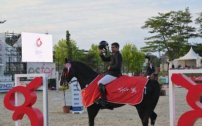 Hugo Tavares gana el Gran Premio Gijón Horse Jumping CSI2* 2021