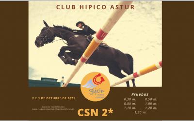 Un CSN2* para comenzar octubre